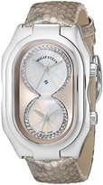 Philip Stein Teslar Women's 11-ICHW-PGGL Prestige Diamond-Accented Stainless Steel Watch