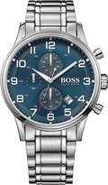 HUGO BOSS 1513183 aeroliner stainless steel watch