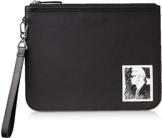 Karl Lagerfeld Paris Legend Luxury Clutch