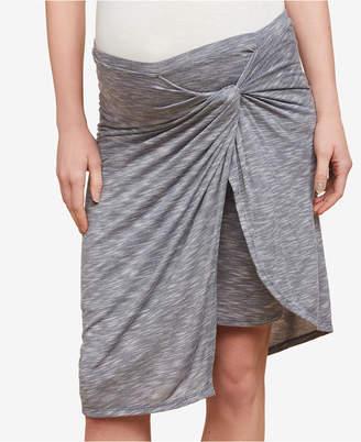 Motherhood Maternity Jessica Simpson Maternity Twist-Front Skirt