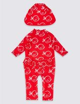 Marks and Spencer 2 Piece Printed Swim Outfit with Lycra® Xtra LifeTM (0-5 Years)