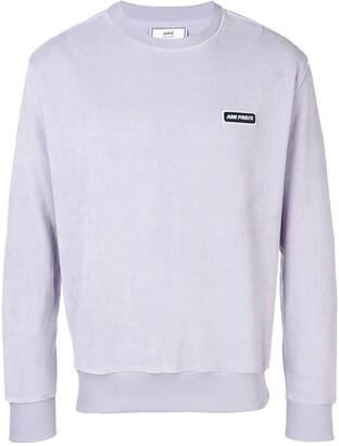 Ami patch sweatshirt