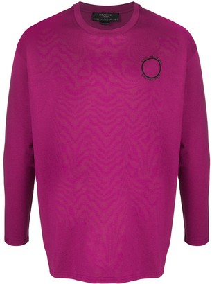 Stella McCartney Logo Print Long-Sleeve Sweatshirt