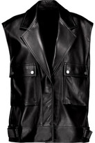 Helmut Lang Belted Leather Vest
