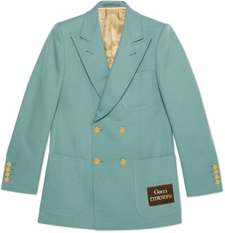 Gucci Sable jacket with Eterotopia