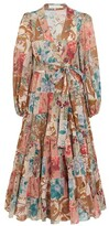 Thumbnail for your product : Zimmermann Cassia midi dress