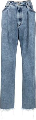 Natasha Zinko Pleated Waist Jeans