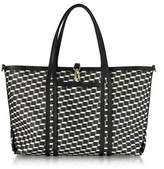 Pierre Hardy Women's White/black Cotton Tote.