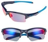 Oakley Women's Quarter Jacket Prizm(TM) 61Mm Semi-Rimless Sunglasses - Black/ Black Iridium