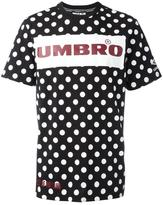 House of Holland x Umbro Plastisol dotted T-shirt