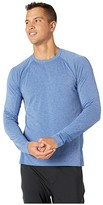 Ryu Vapor Long Sleeve Crew (Vapor Royal Blue Heather) Men's Clothing