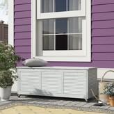 Safavieh Elina Eucalyptus Deck Box Color: Gray