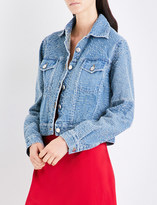 Area Blake distressed denim jacket