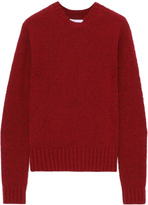 Helmut Lang Brushed Melange Knitted Sweater