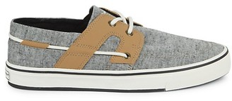 Tommy Bahama Canvas Boat Shoes