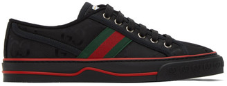 Gucci Black Tennis 1977 Off The Grid Low-Top Sneakers
