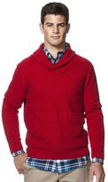 Chaps Men's Classic-Fit Textured Shawl-Collar Sweater