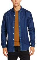 Lindbergh Men's Denim L/s Leisure Shirt,(manufacturer Size: Xl)