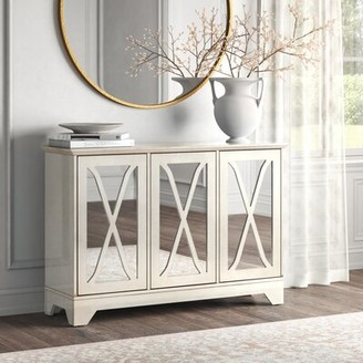 """Kelly Clarkson Home Marguerite 52"""" Wide Sideboard Color: Distressed Antique White"""