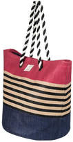 Roxy Color-Block Beach Tote