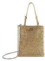 Prada Women's Mini Crystal Crossbody Bag