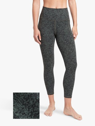 Athleta Salutation Stash Pocket Moonflower Print Tights