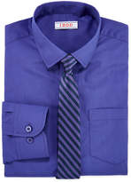 Izod Fashion Dress Shirt & Tie Set - Boys 8-20