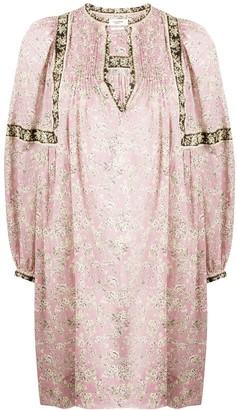 Etoile Isabel Marant Virgine balloon-sleeved shift dress