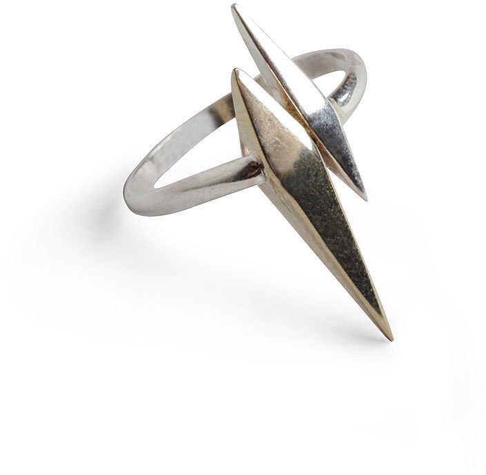 Wendy Nichol Double Spike Ring