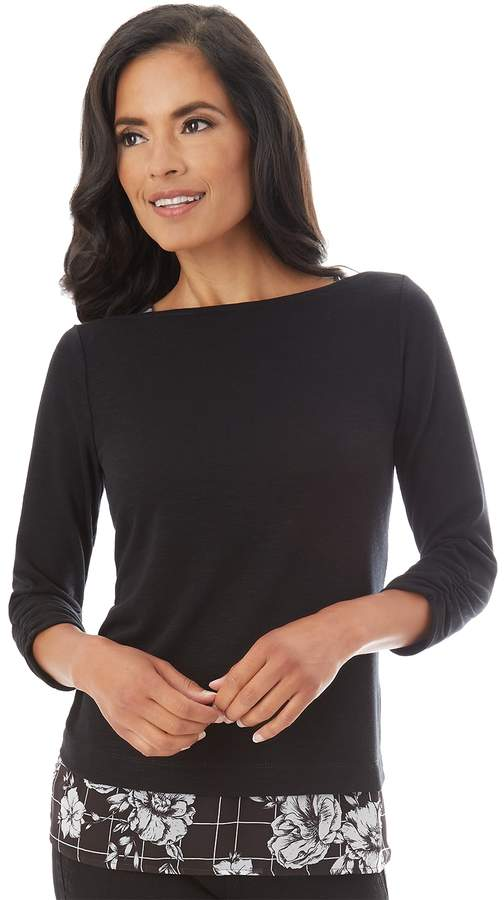 49e6afd6b0 Mock Layer Sweaters - ShopStyle
