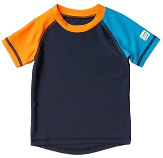 reima Swim Shirt Cedros (Infant/Toddler) (Navy) Kid's Swimwear