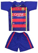 Praga FC Barcelona Jersey/Shorts Uniform Soccer Football Kids (5-6 yrs, )