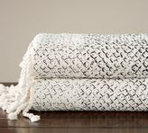 Pottery Barn Ombre Mariner Throw