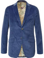 Etro Slim-Fit Cotton-Corduroy Blazer