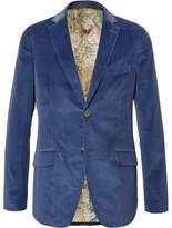 Etro Slim-Fit Cotton-Corduroy Blazer