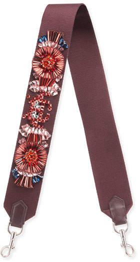 Anya Hindmarch Diamante Circulus Shoulder Strap for Handbag, Red