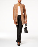 Charter Club Open-Front Suede Jacket, Created for Macy's