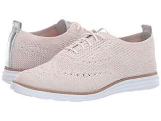 Cole Haan Original Grand Stitchlite Wing Oxford (Peach Blush) Women's Shoes