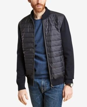 Barbour Men's Carn Baffled Full-Zip Sweater