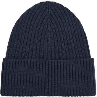 Eton Wool Ribbed Beanie Hat