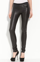 Helmut Lang Women's Lambskin Leather Leggings