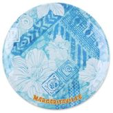 Margaritaville Tie Dye Dinner Plate in Blue