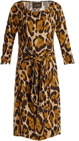 Vivienne Westwood Marilyn leopard-print dress