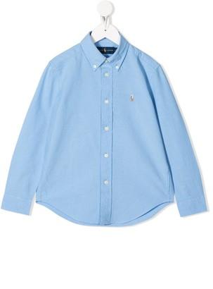 Ralph Lauren Kids Plain Button Shirt