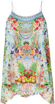 Camilla floral print top