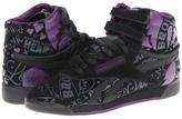 Reebok F/S Hi AK (Reptile/Black/Gravel/Black Plum) - Footwear