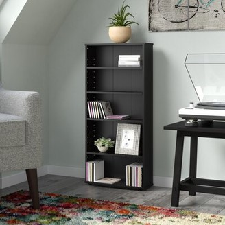 Ebern Designs Lansing 5-Tier Multimedia Wall Mounted Media Storage