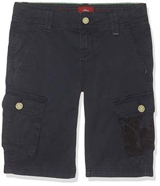 S'Oliver Boys' 61.904.74.5874 Trousers, (Dark Blue 5874), (Size: /Big)
