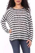 Entro Navy Stripe Sweater