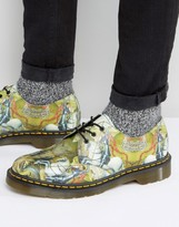 Dr Martens 1461 George & Dragon Print 3 Eye Shoes